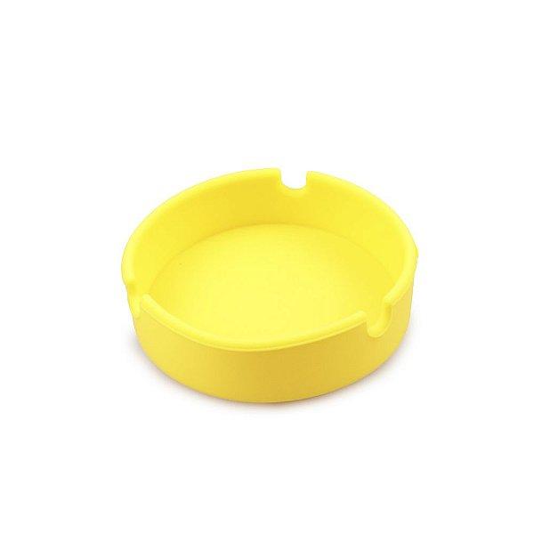 Cinzeiro de Silicone para 3 Cigarros Breeze Only - Amarelo
