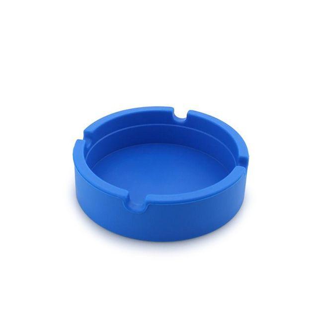 Cinzeiro de Silicone para 4 Cigarros Breeze Only - Azul