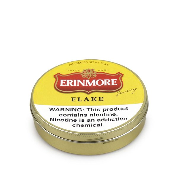 Fumo para Cachimbo Erinmore Flake - Lt (50g)