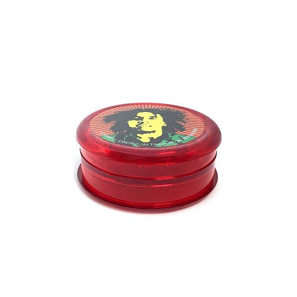 Dichavador De Plástico Bob Max Hpg - Mod. 17 Vermelho