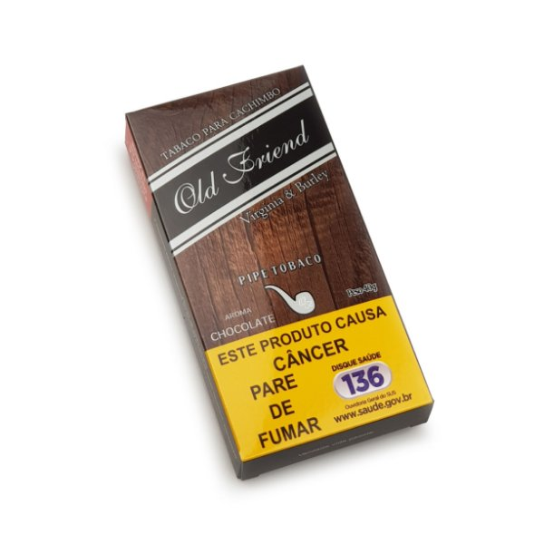 Fumo para Cachimbo Old Friend Chocolate - Pct (40g)