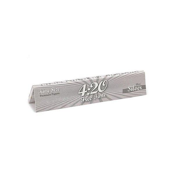 Seda 4:20 King Size Slim Silver (Un.)
