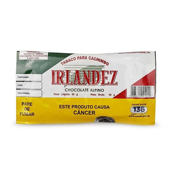 Fumo para Cachimbo Irlandez Chocolate Alpino - Pct (50g)