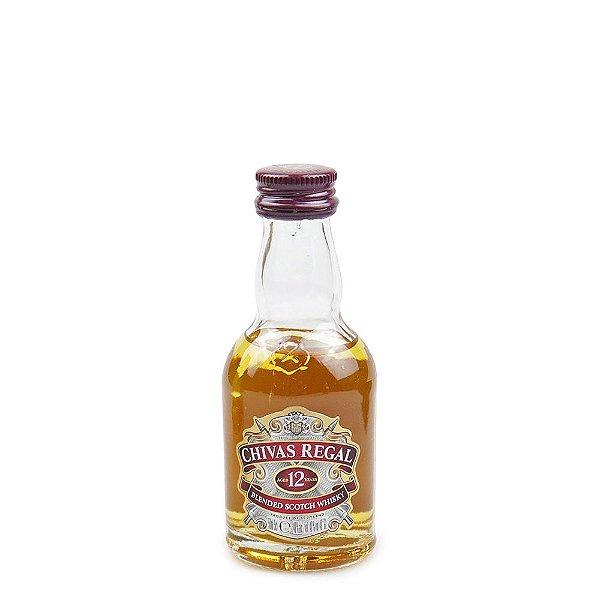 Whisky Chivas 12 anos 50ml