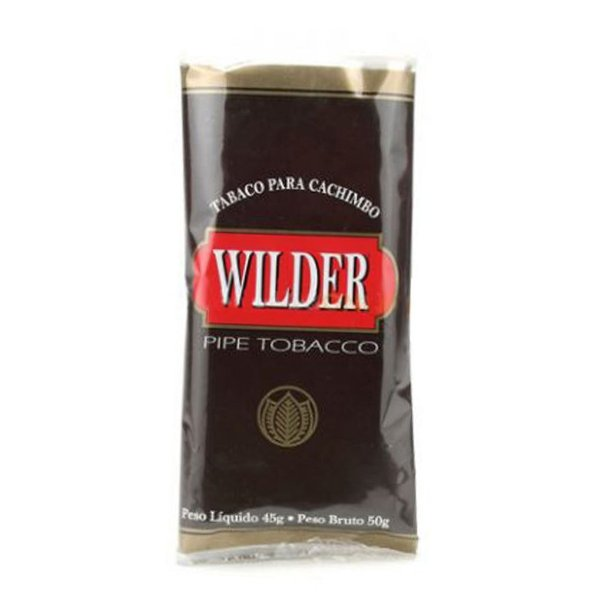 Fumo para Cachimbo Wilder Marrom Chocolate Alpino - Pct (45g)