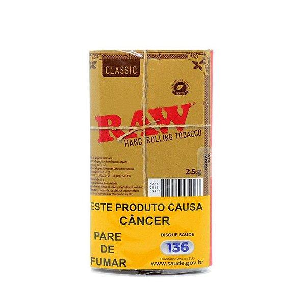 Tabaco para Enrolar Raw Classic - Pct (25g)