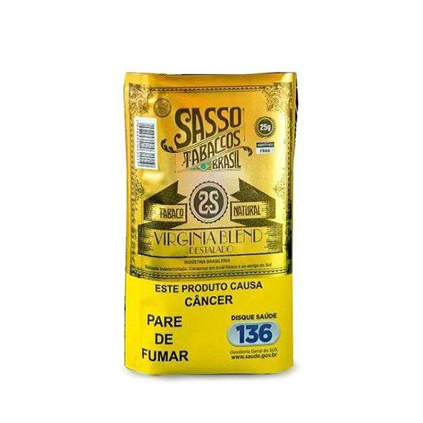 Tabaco para Enrolar Sasso Natural Virginia Blend - Pct (25g)