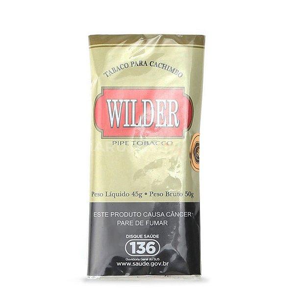 Fumo para Cachimbo Wilder Bege Tradicional - Pct (45g)