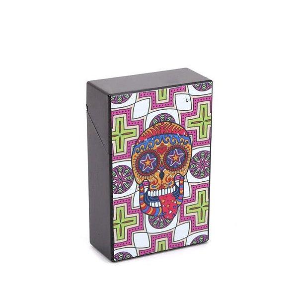 Cigarreira de Plástico - Caveira Mexicana 6