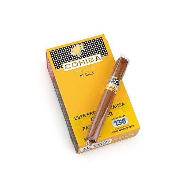 Cigarrilha Cohiba Short - Pt (10)
