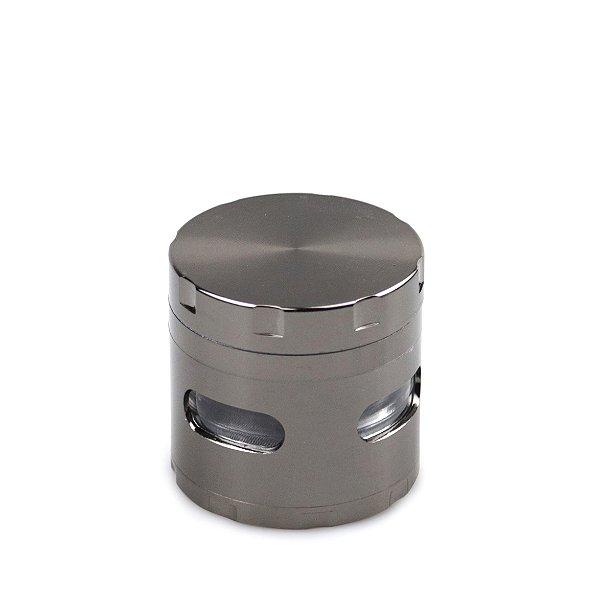 Dichavador de Metal Extra com Visor - Chumbo