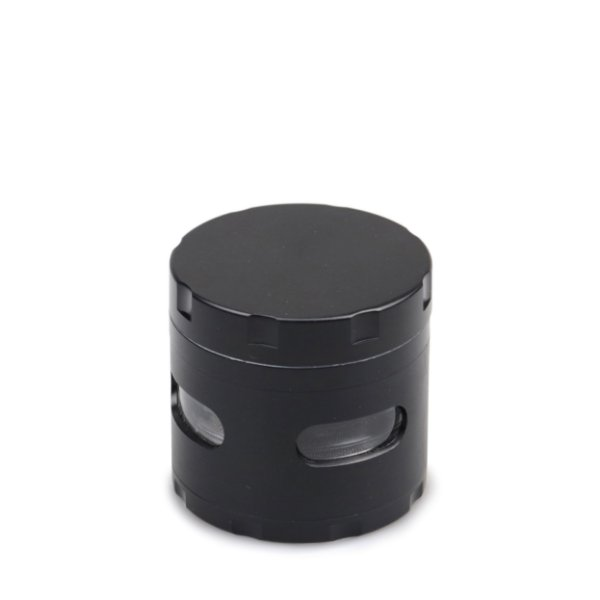Dichavador de Metal Extra com Visor - Preto