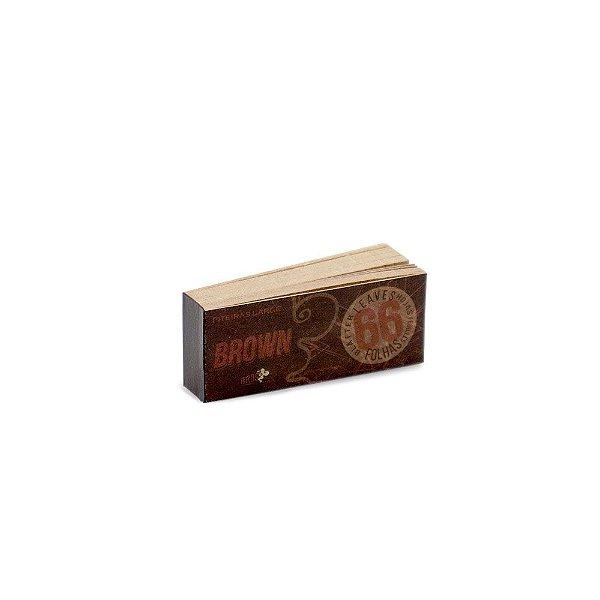 Piteira de Papel Bros 66 - Brown Large (Un.)