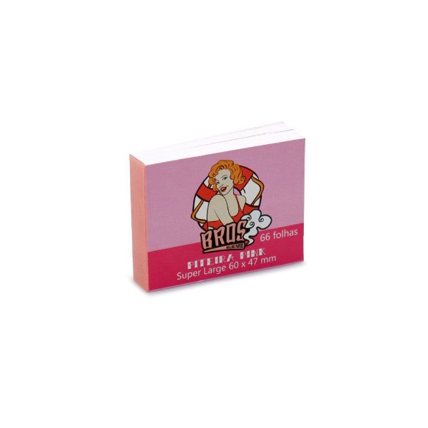 Piteira de Papel Bros 66 - Pink Super Large (Un.)
