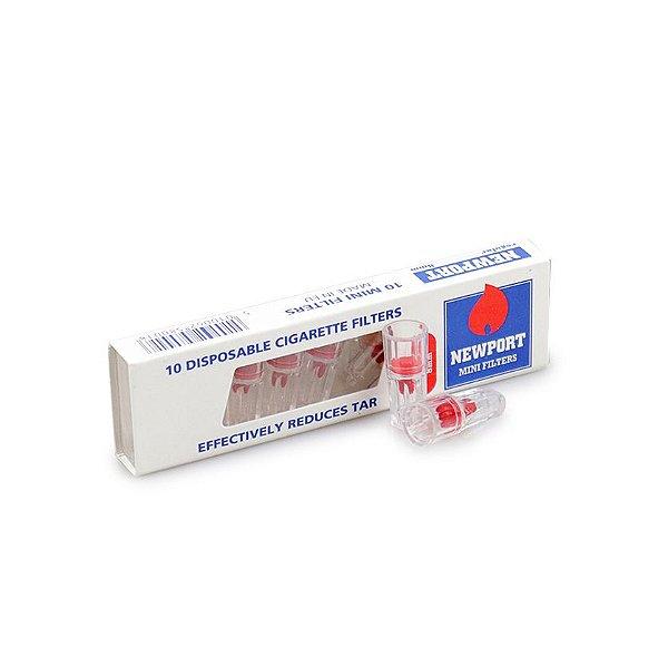 Piteira Descartável para Cigarro Comum NewPort (Caixa com 10)