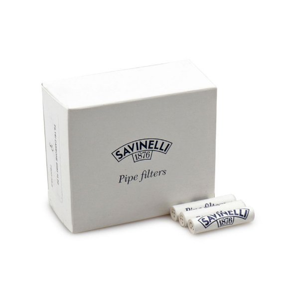 Filtro de 9mm para Cachimbo Savinelli - Caixa com 35