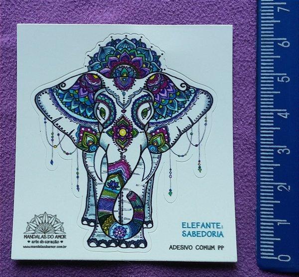 Mandala Elefanta - Sabedoria