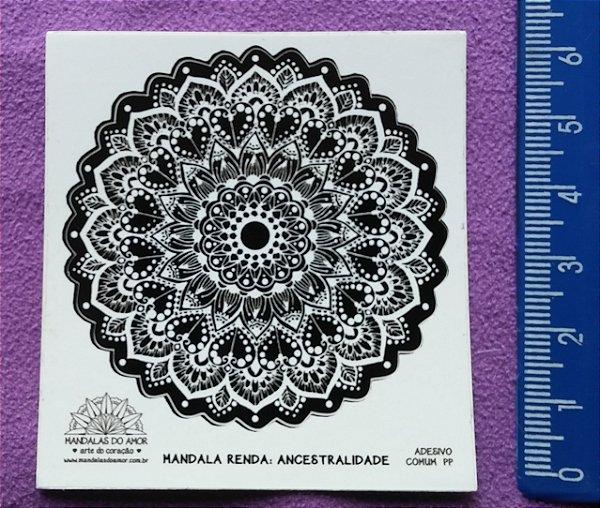 Mandala Renda Ancestralidade