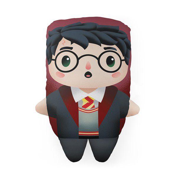 Almofada Cute Harry Potter Decoração Geek com Enchimento