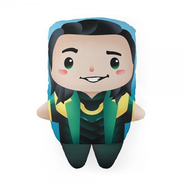 Almofada Cute Lokki Marvell Decoração Geek com Enchimento