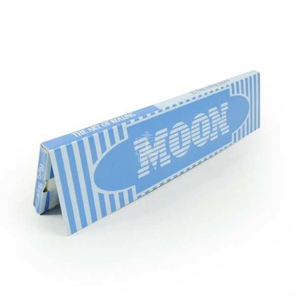 PAPEL PARA CIGARRO MOON KING SIZE BLUE