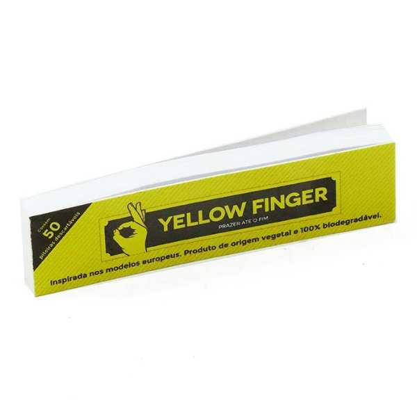PITEIRA DE PAPEL YELLOW FINGER 50 TIPS