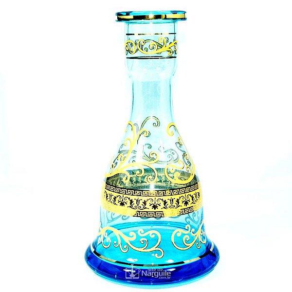 VASO MD HOOKAH SINO - SEA BLUE (AZUL MAR)