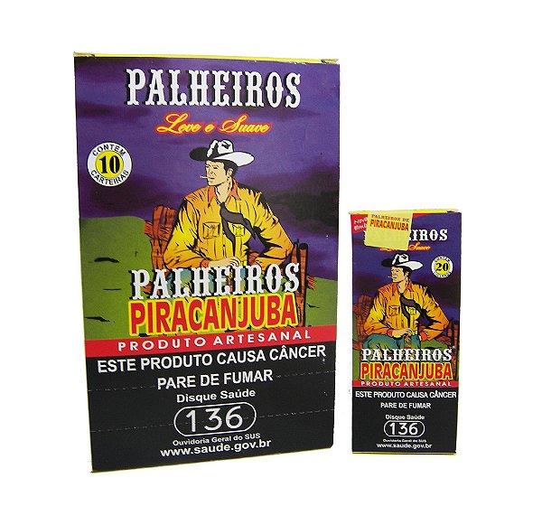 CIGARRO DE PALHA PALHEIROS PIRACANJUBA TRADICIONAL
