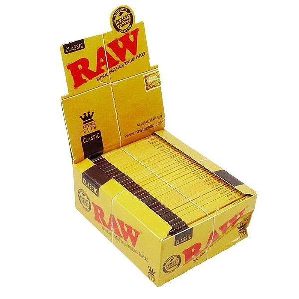 PAPEL DE CIGARRO RAW CLASSIC ROLLING