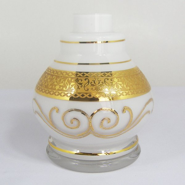 VASO PEQUENO TITAN GLASS JUMBINHO BRANCO
