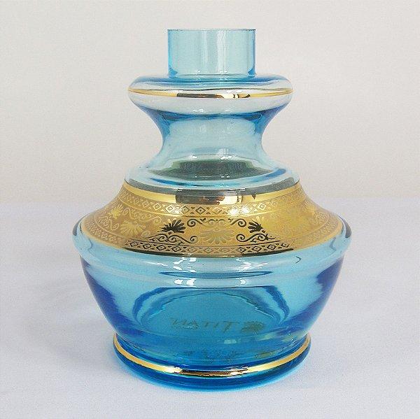 VASO PEQUENO TITAN GLASS MALAGA AZUL CLARO