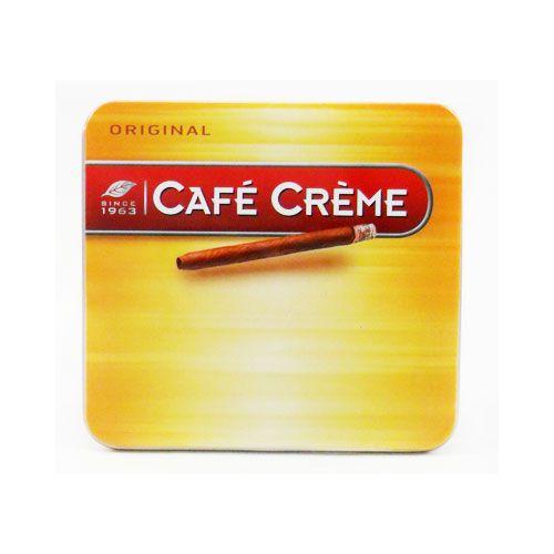 CIGARRILHA CAFÉ CREME ORIGINAL LATA C/10