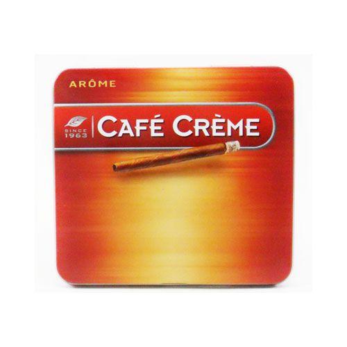CIGARRILHA CAFÉ CREME ARÔME LATA C/10