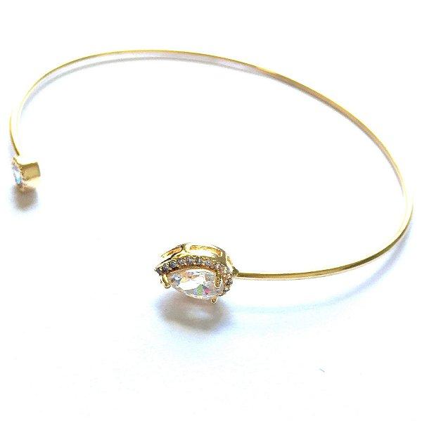 Pulseira Bracelete Gota Gd