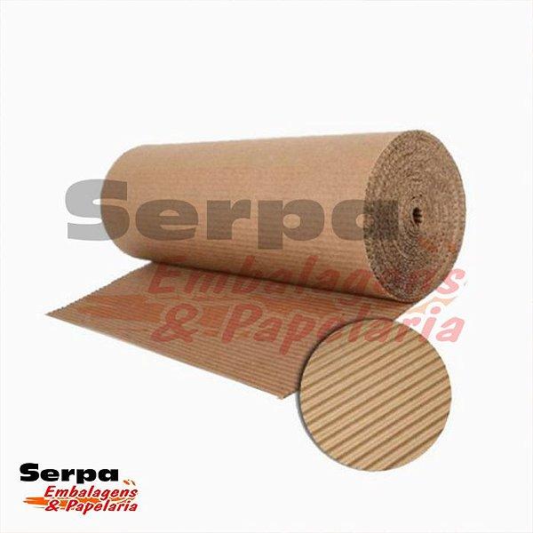Papelão ondulado - rolo com 120cm