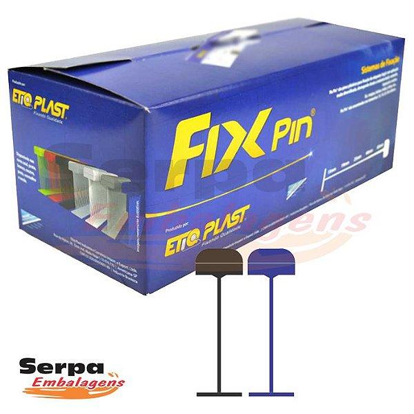 Fix Pin Normal PRETO - Caixa com 5.000 pinos