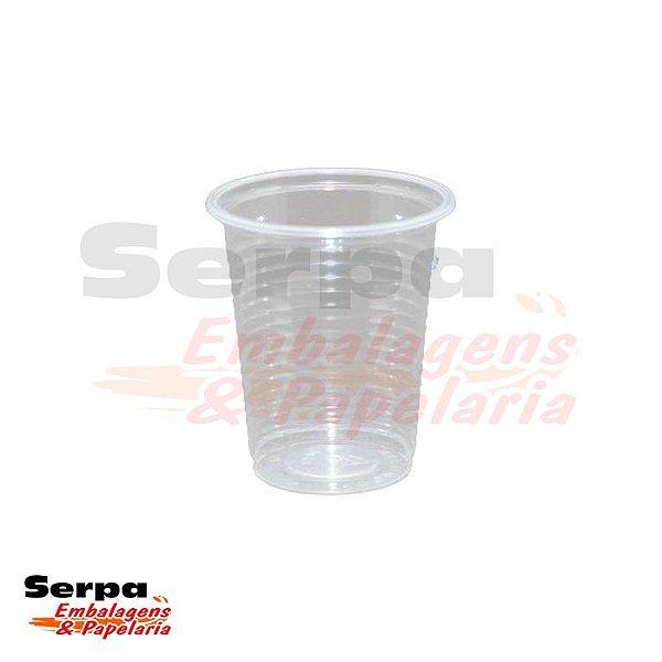 Copo Plástico 80ml Transparente - Caixa 2.500 ou Pacote 100 unidades - COPOZAN