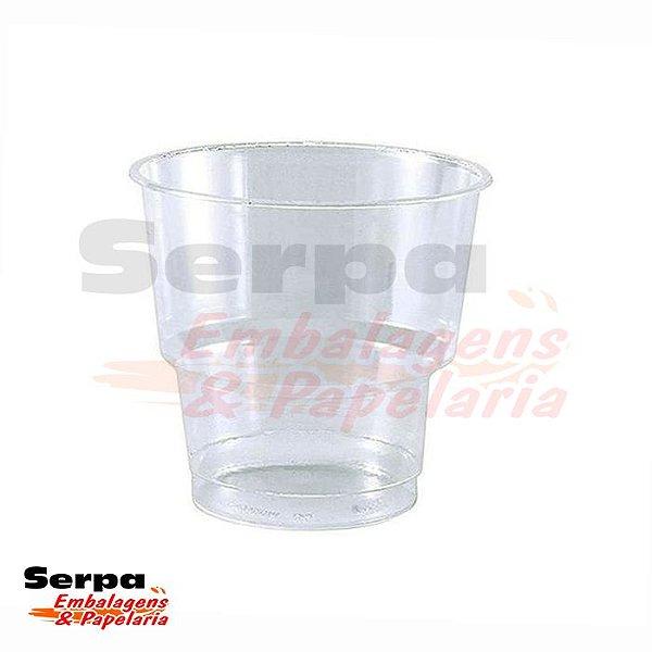 Copo Plástico 200ml PREMIUM PP WHISKY Transparente - Caixa 1.000 ou Pacote 50 unidades - COPOZAN