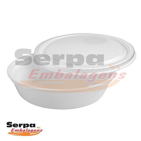 Marmita de Isopor SEM TAMPA 750ml REF02 - Caixa 100 unidades - TOTALPLAST