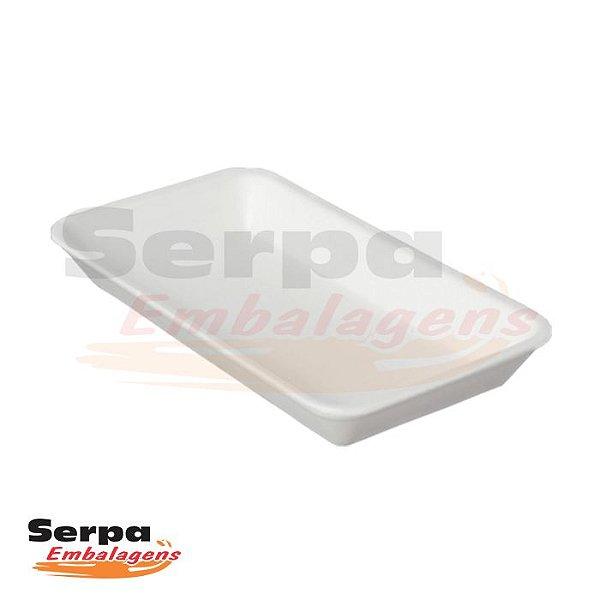 Bandeja de Isopor Branca 04 - Caixa 100 ou 400 unidades - Totalplast