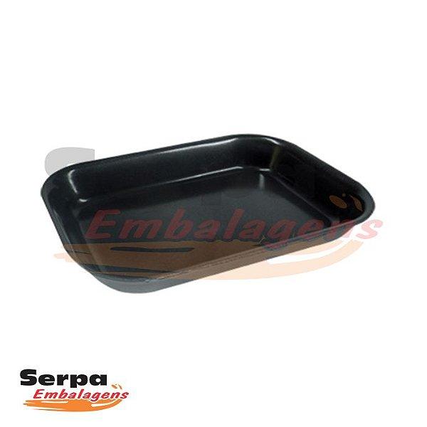 Bandeja de Isopor Branca ou Preta - M54 - Caixa 100 ou 400 unidades - MEIWA