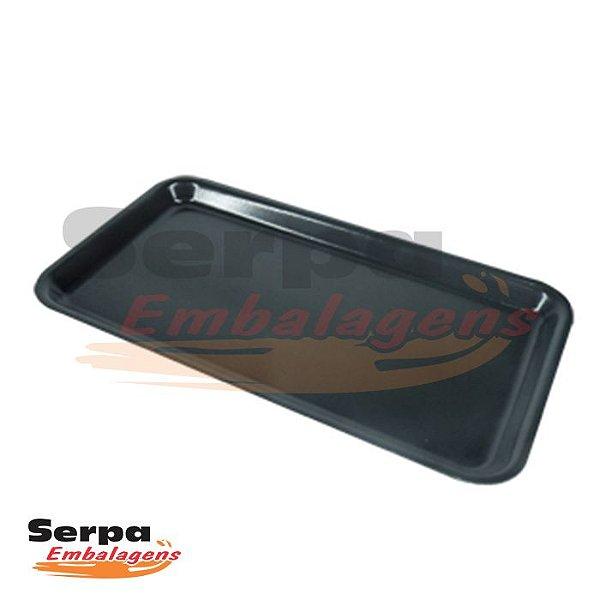 Bandeja de Isopor Preta - M5 - Caixa 100 ou 400 unidades - MEIWA