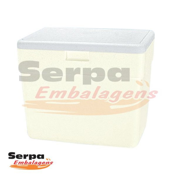 Caixa Térmica de Isopor 28 Litros - ISOTERM