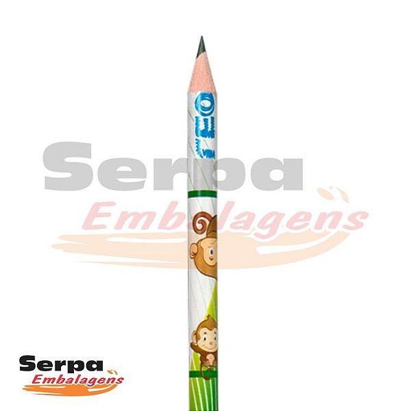 Lápis Grafite HB com Borracha Mascotes Redondo