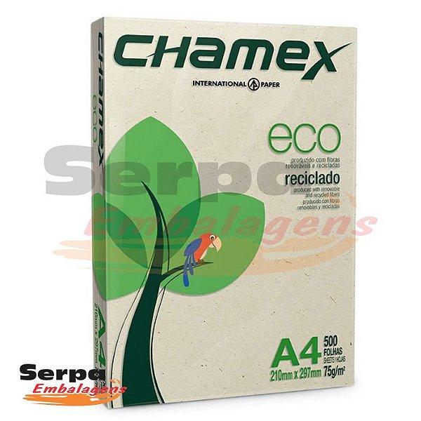 Papel A4 Sulfite 75g Reciclado Chamex