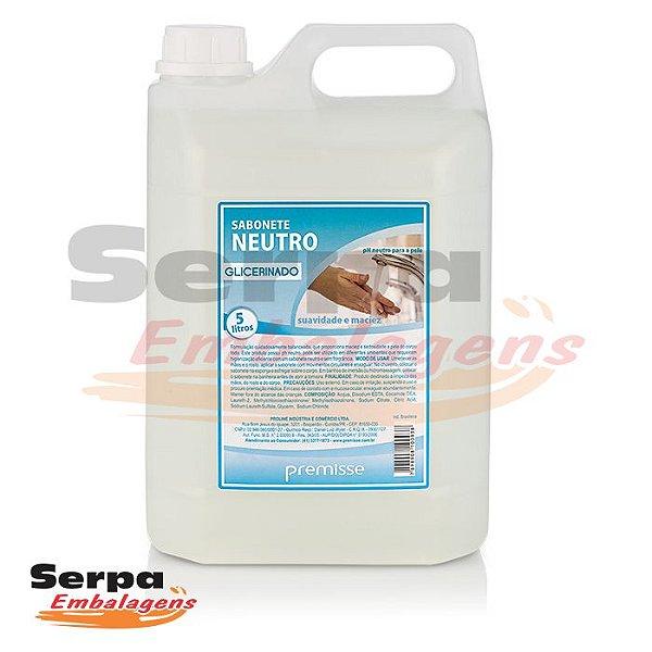 Sabonete GLICERINADO NEUTRO 5 Litros - Premisse