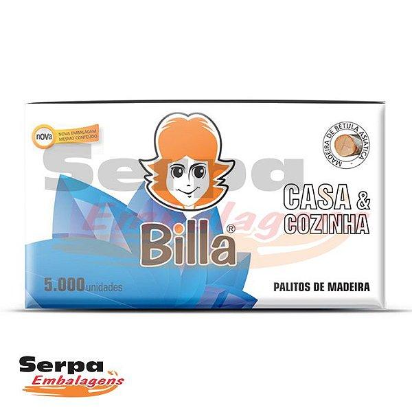 Palitos De Dente de Madeira - Embalados Individualmente - Caixa com 5.000 unidades