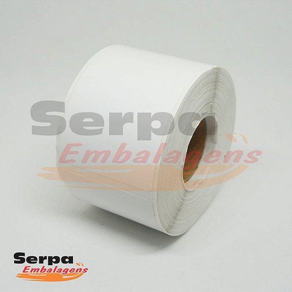 Etiqueta Térmica Adesiva 40 x 40 mm BRANCA com 20m