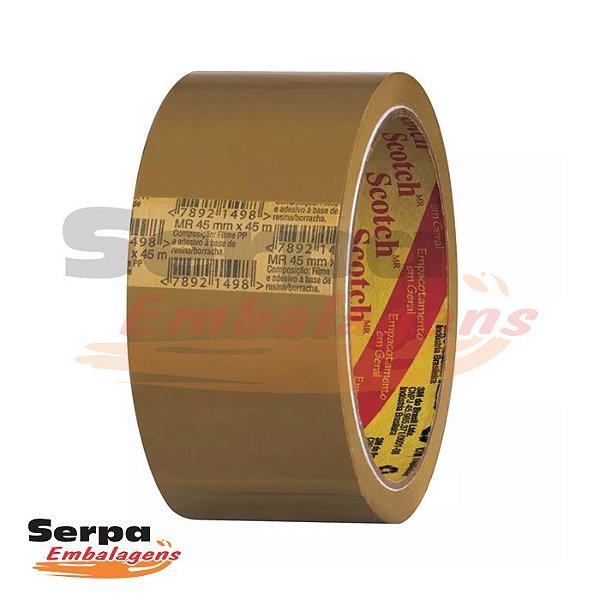 Fita Adesiva 45mm X 45m Marrom - SCOTCH