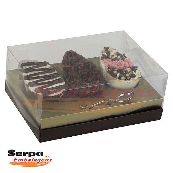Caixa de Ovo de Colher DECORADA COM COLHER 3x100g